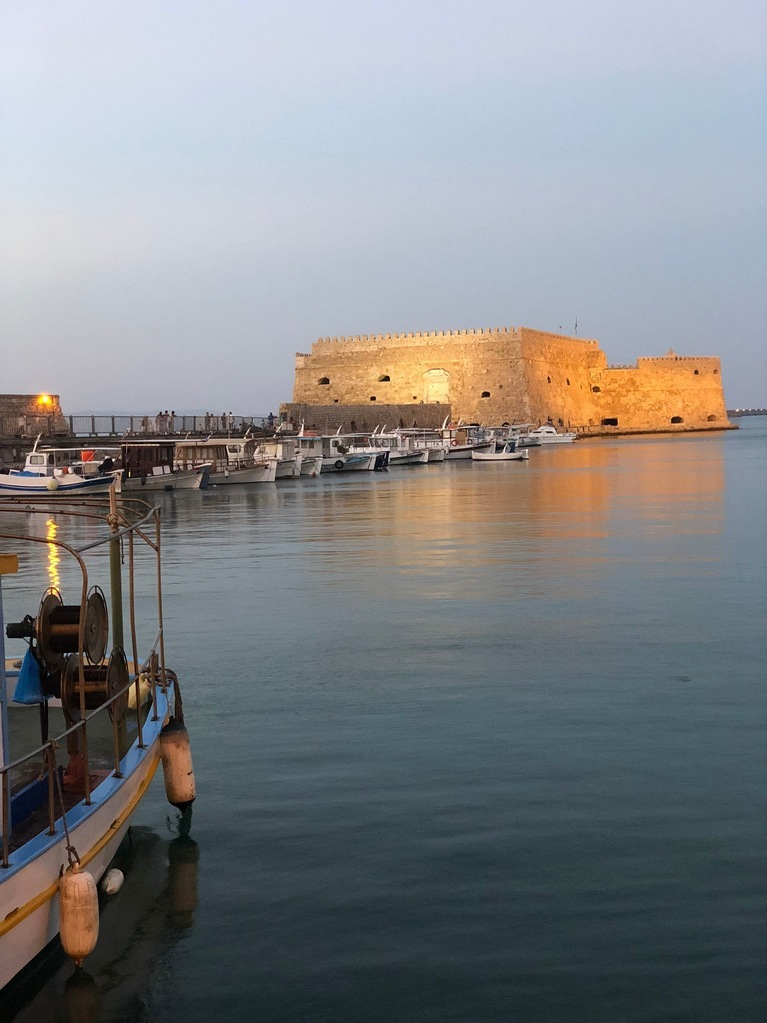 The Koules fortress at the harbour is just 1.3 km away from Galaxy Hotel Iraklio, our 5 star hotel close to Heraklion town.